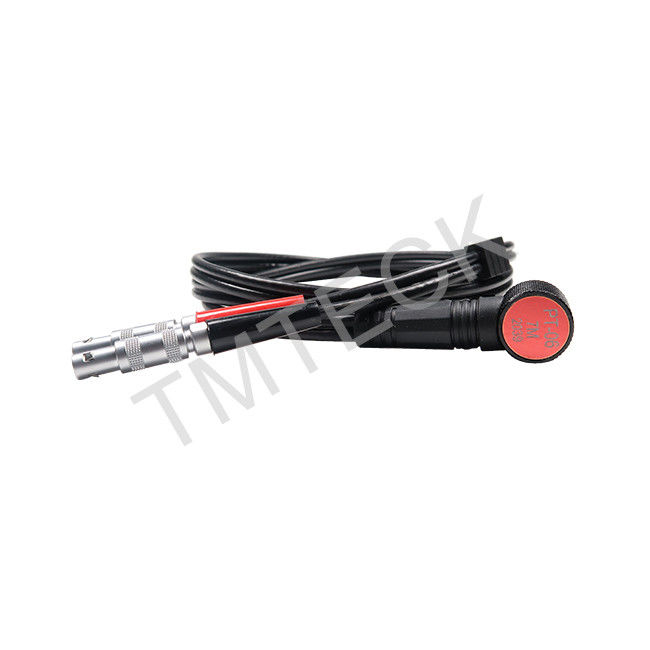 PT-06 Ultrasonic Thickness Gauge Probe Transducer 6MHz Frequency 7MM Contact Diameter