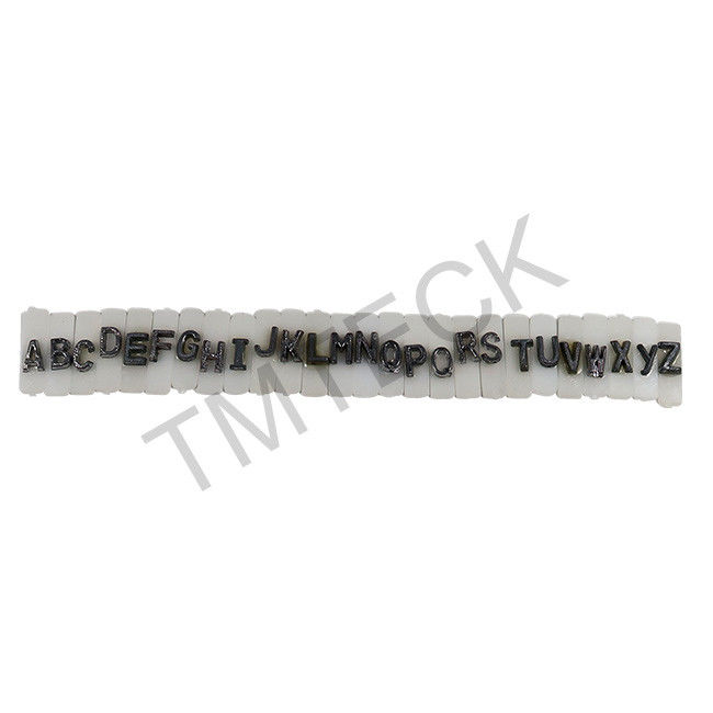 Ll2 Darkroom Accessories X Ray Lead Letters And Numbers Flat Face 9 X6x2 Mm